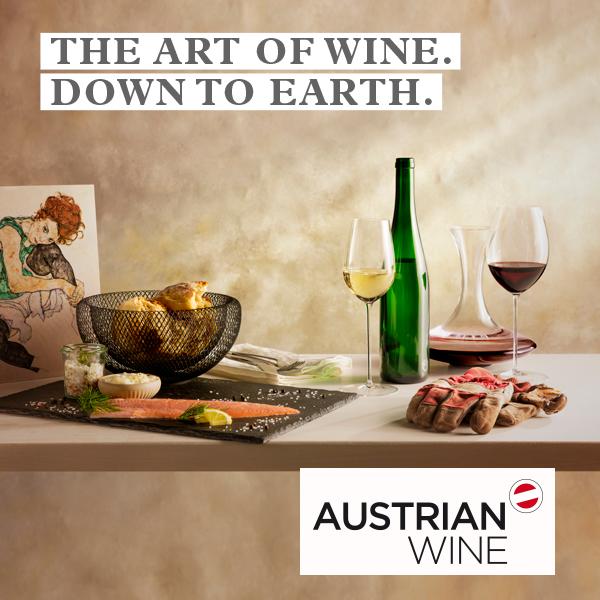 오스트리아 와인 광고