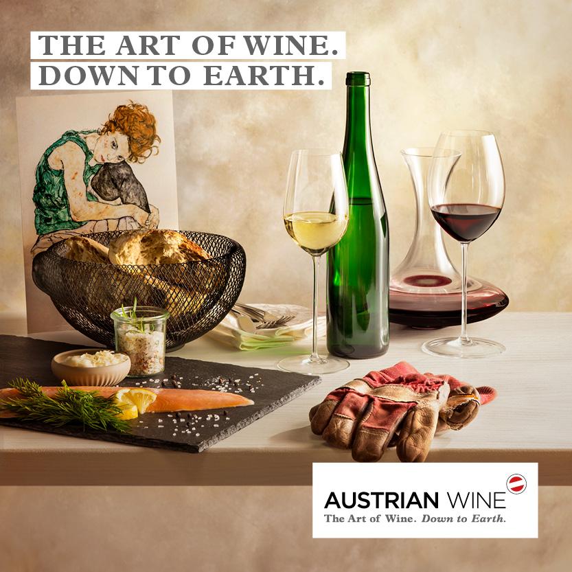 오스트리아 와인광고
