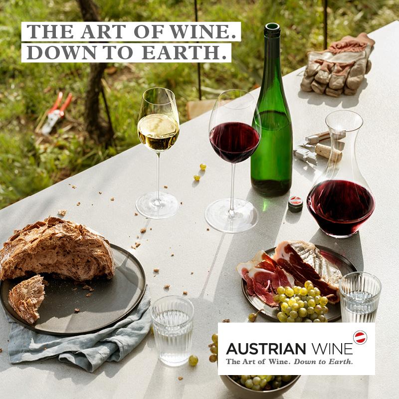 오스트리아 와인협회 광고