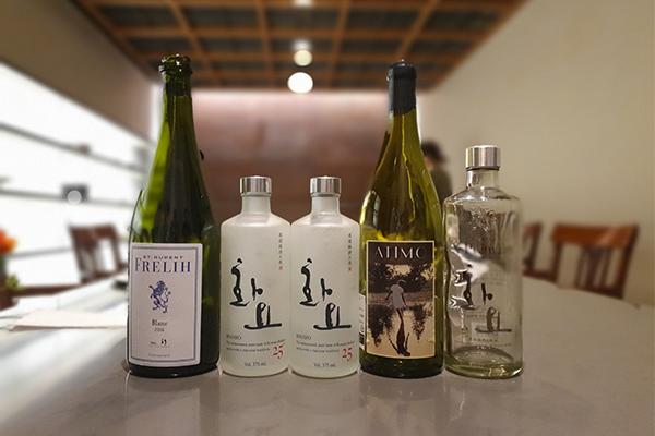한식 & 내추럴 와인 페어링을 진행한 [가온 X 네이처 와인 Co.]