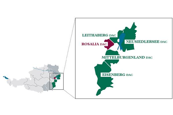 오스트리아 10번째 원산지 명칭 통제 지역 지정- 로잘리아(Rosalia DAC)