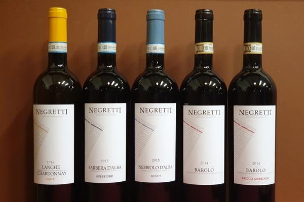 랑게의 무서운 신인-네그레티 형제 와인들