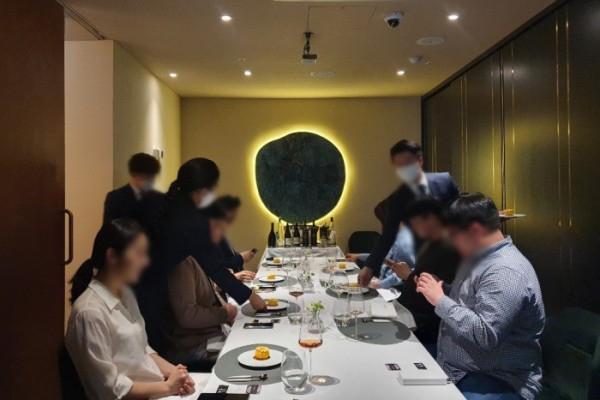 미쉐린 프렌치 레스토랑 '라미띠에' 내추럴 와인 페어링을 선보인 네이처 와인 컴퍼니