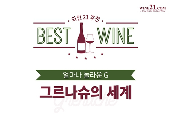 와인21추천 BEST OF BEST 드넓은 그르나슈의 세계 얼마나 놀라운 G