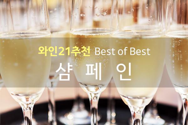 와인21추천 BEST OF BEST, 샴페인(Champagne)